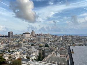 Genua Panoramablick