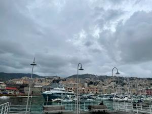 Genua bei Regen